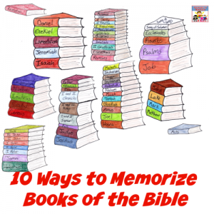 how to memorize the books of the Bible
