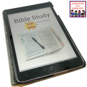 how to study the bible for kids cover for site