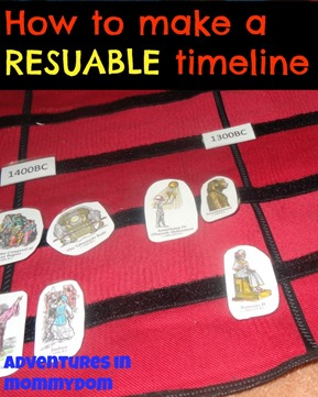 how to make a reusable timeline