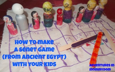 how to make a senet game