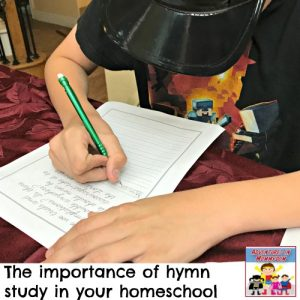 why you should do a hymn study (Don't miss the giveaway!)