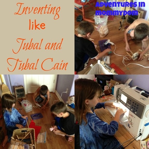 inventing like Jubal and Tubal Cain pre-history lesson
