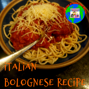 italian bolognese recipe geography europe cooking around the world