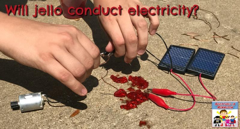jello conduct electricity