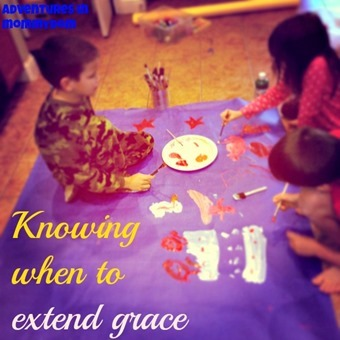 knowing when to extend grace
