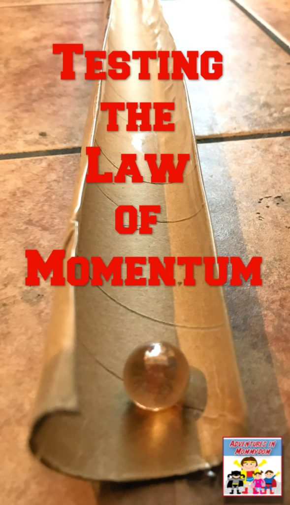 law of momentum lesson