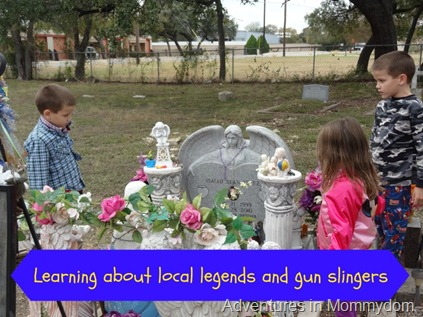 learn about local legends