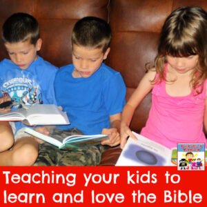 learn and love the Bible family discipleship