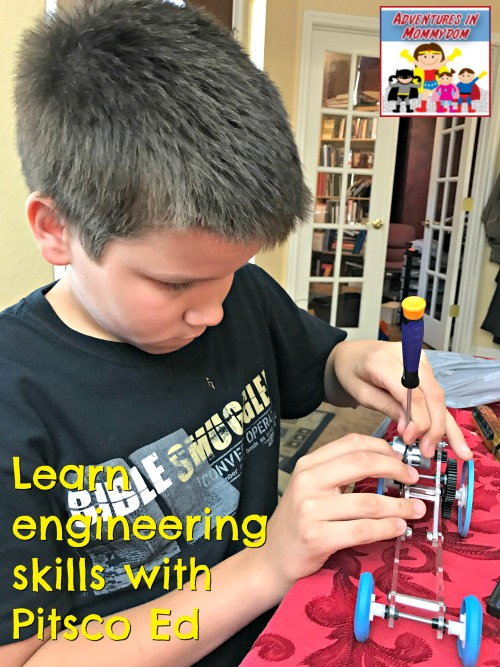 learn engineering skills with pitsco ed