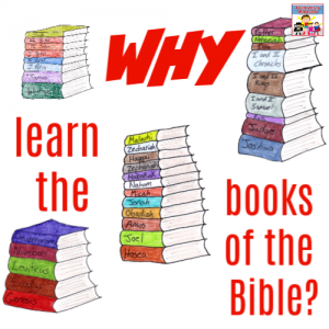 learn the Books of the bible with fun