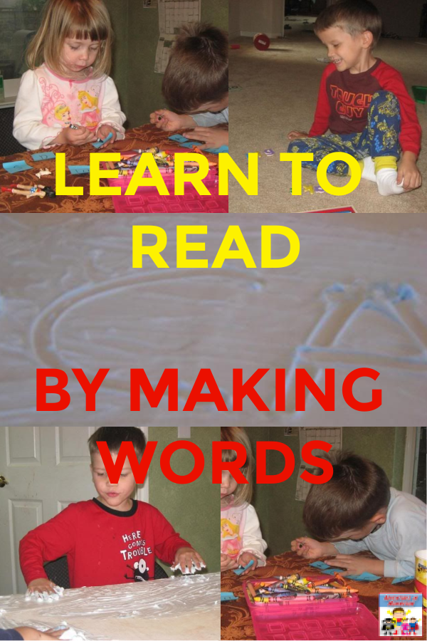 #learntoread with making words a fun interactive #phonicslesson