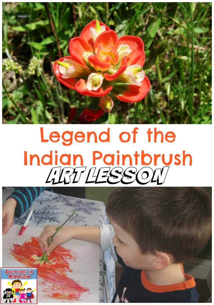 the legend of the indian paintbrush In spring, the hills and meadows of texas and wyoming are ablaze with the reds,  oranges, and yellows of the indian paintbrush how this striking plant received.