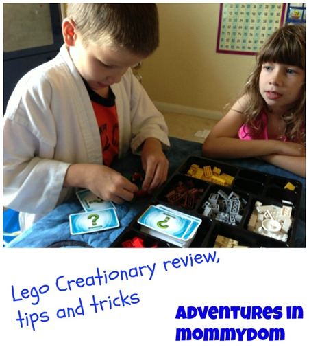 lego creationary review, tips, and tricks