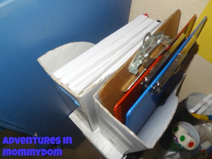 lesson plan notebook storage