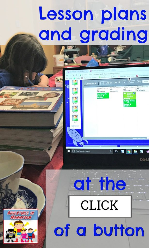 lesson plans and grading at the click of a button Homeschool Planet