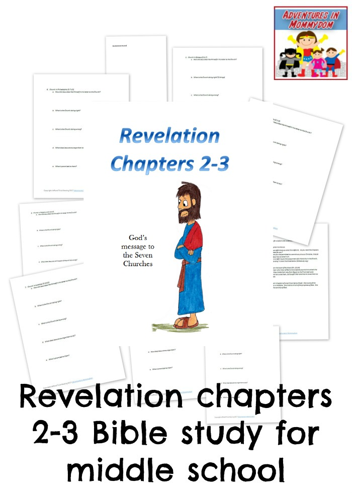 letters to the churches in Revelation Bible study