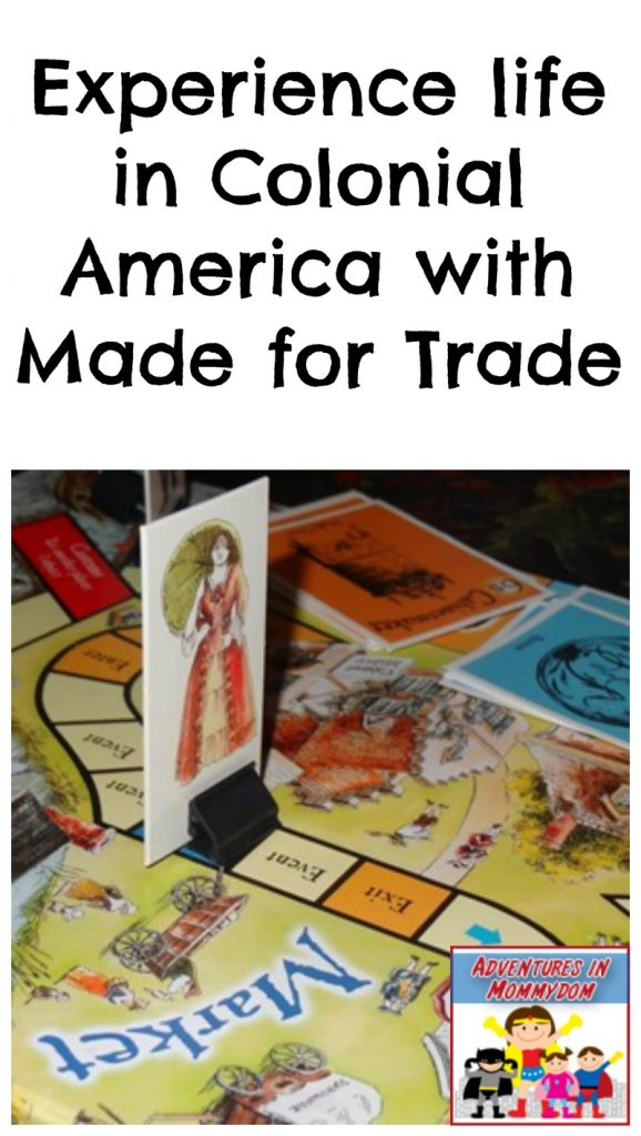 life in colonial america made for trade
