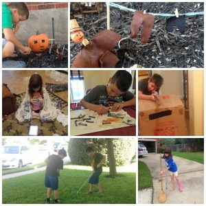 October 2016 homeschool happenings