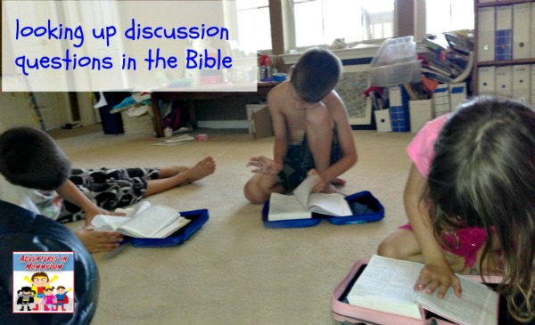 looking up 10 plagues discussion questions in the Bible