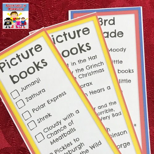 lower elementary books made into a movie bookmarks