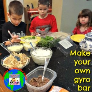 make your own gyro meal
