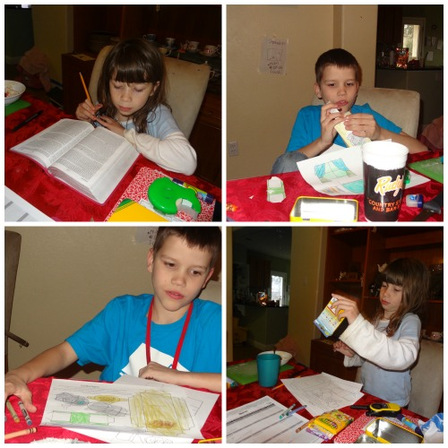 making Jesus raising Jairus' daughter Bible craft