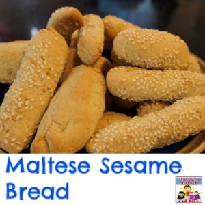 maltese sesame bread recipe for a geography unit study