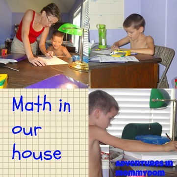 math in our house