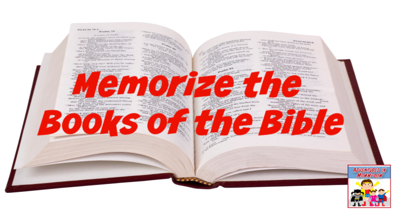 memorize the books of the Bible