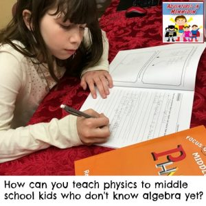 middle school homeschool science curriculum