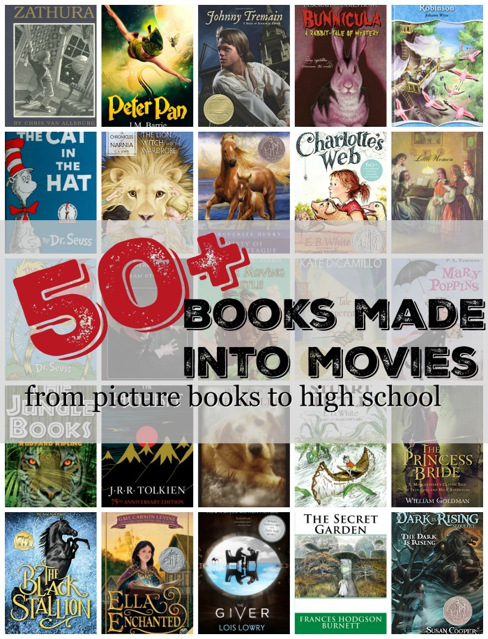 more than 50 picture books made into movies