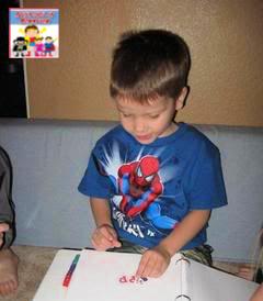 morning time for preschool alphabet