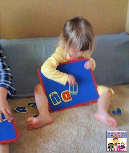 morning time for preschool making words