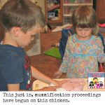 mummification proceedings have begun