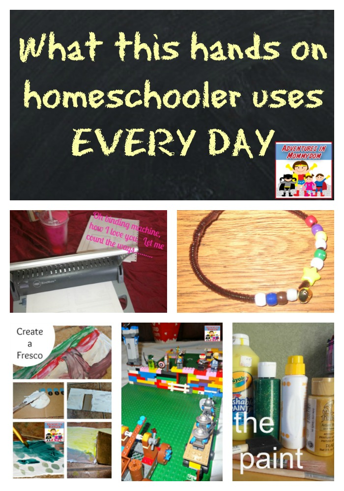 must have hands on homeschool supplies