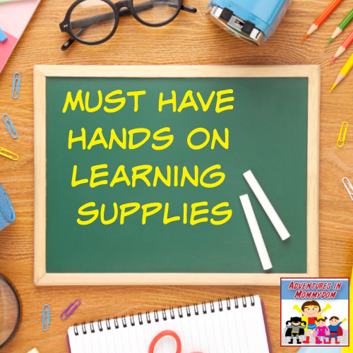 must have hands on learning school supplies