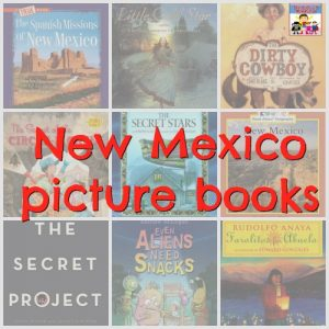 new mexico picture books for United States geography book list