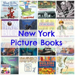 Visit New York through picture books