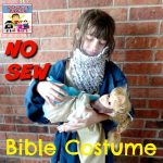 now sew Bible costume