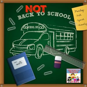 Homeschooling?  Have a Not Back to School Day!