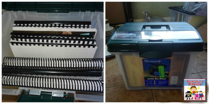 notebook storage