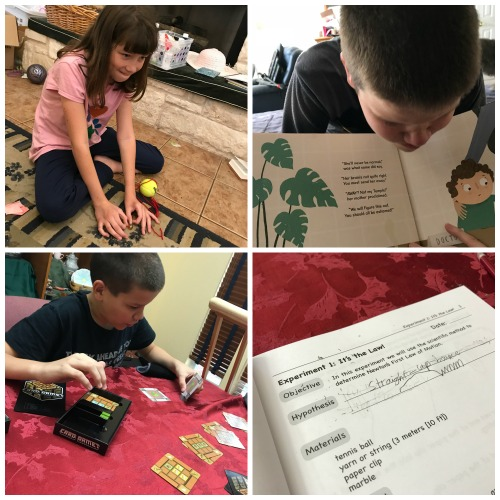 november 2017 homeschooling week 1