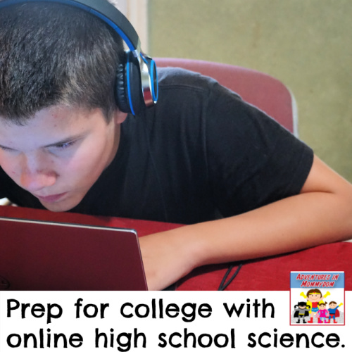 online homeschool science