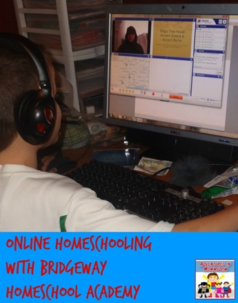 online homeschooling with bridgeway homeschool academy