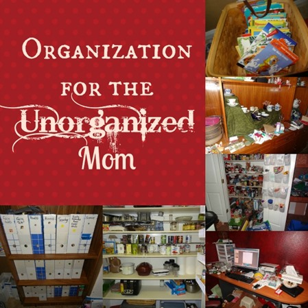 organization for the unorganized Mom