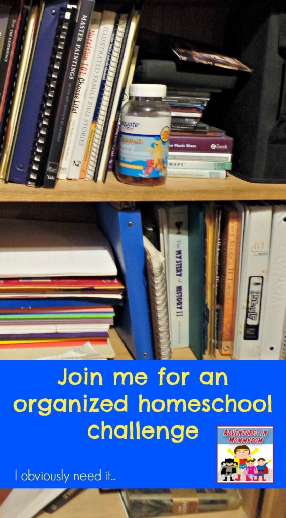 Join me for the organized homeschool challenge