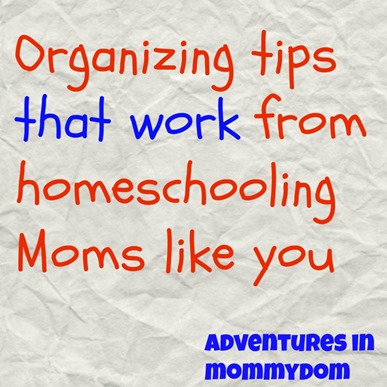 organizing tips that work