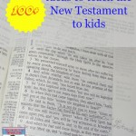 100 Ideas to teach the New Testament to Kids