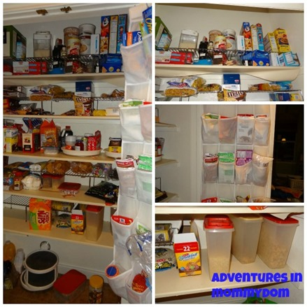 pantry organization tips after