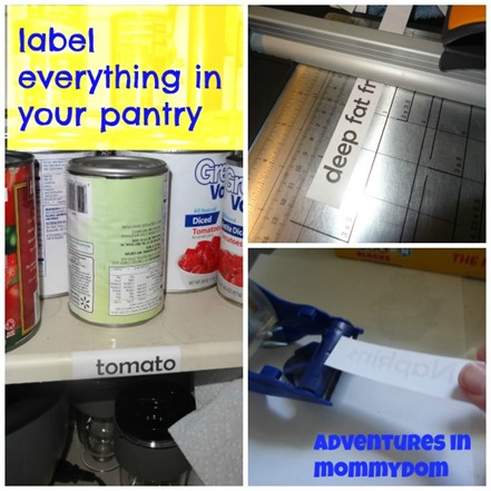 pantry organization tips label your pantry